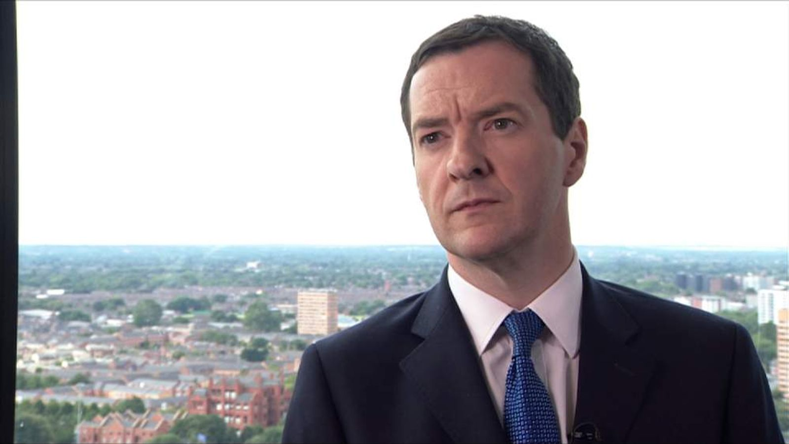 George Osborne on Baroness Warsi's resignation