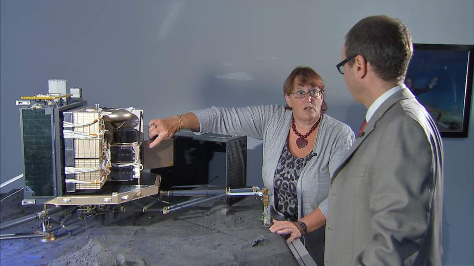 060814 ROSETTA COMET SPACE MOORE AND PACE SCIENTIST PROF MONICA GRADY