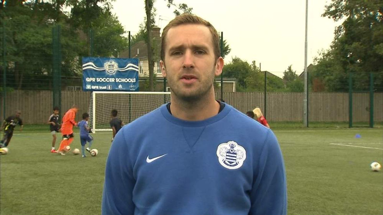 QPR Football Development Manager Steve McCarthy