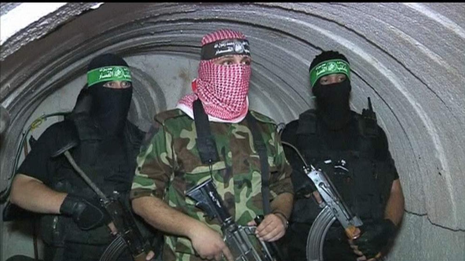 Hamas show off their tunnel network under Gaza