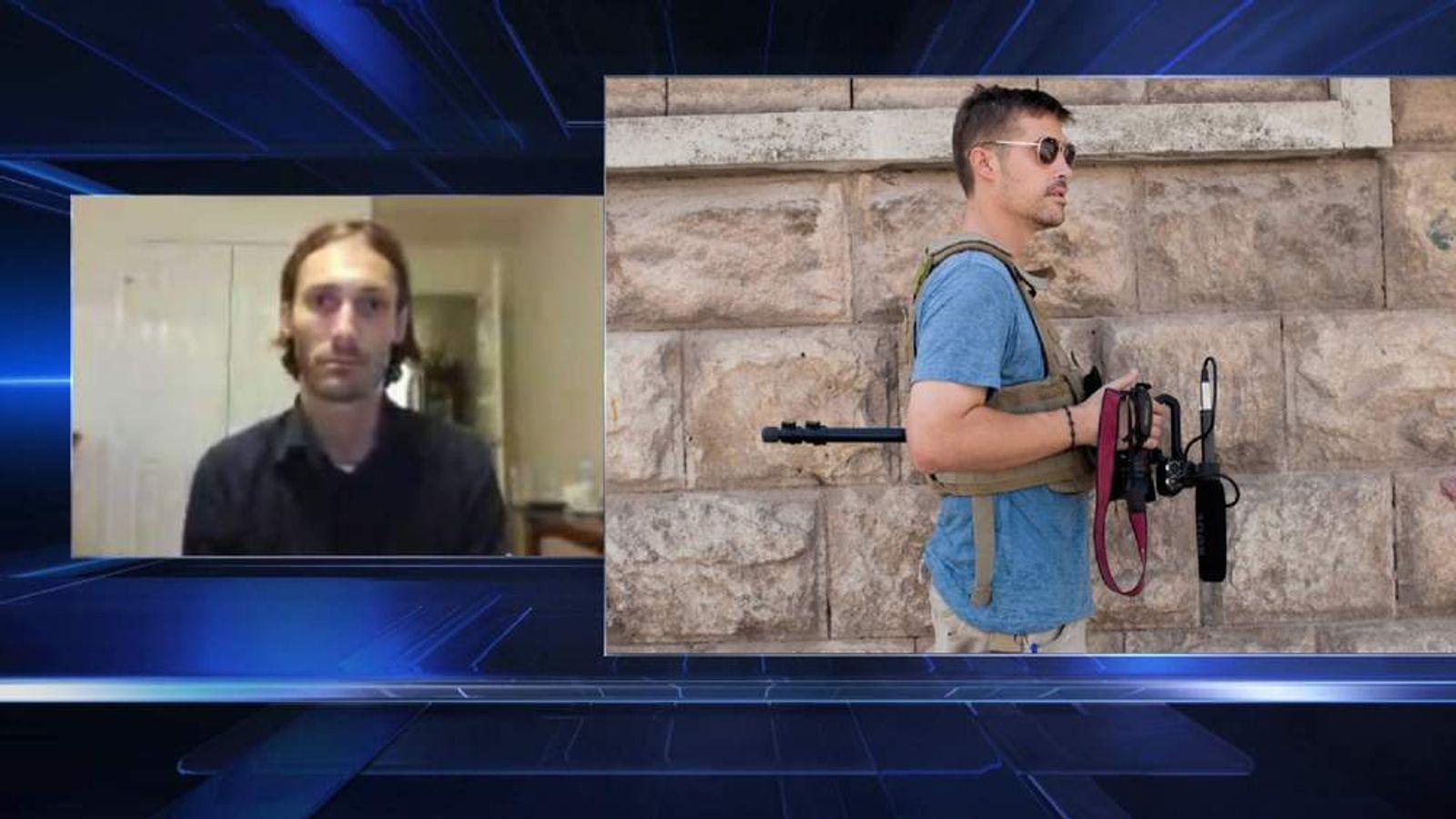 Matthew VanDyke speaks to Sky News about friend James Foley