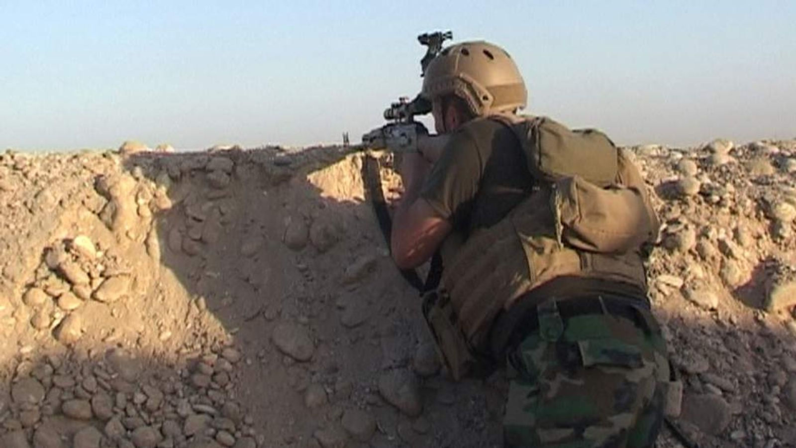 There are fears of a massacre in the Iraqi town of Amerli