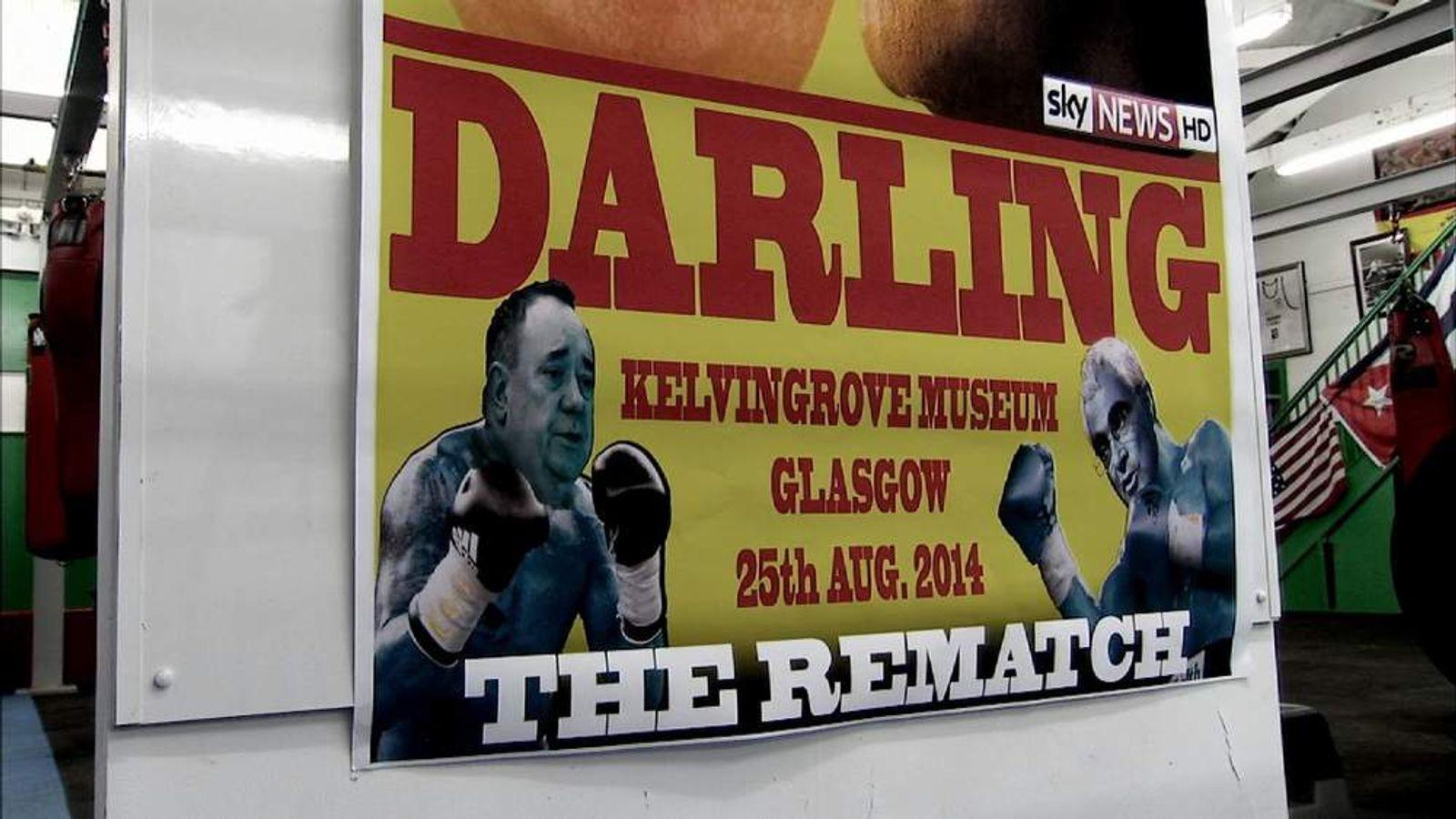 Scottish referendum debate rematch