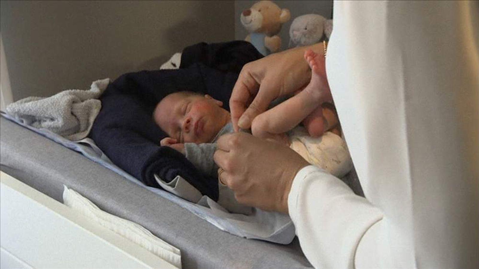 Sweden womb transplant baby