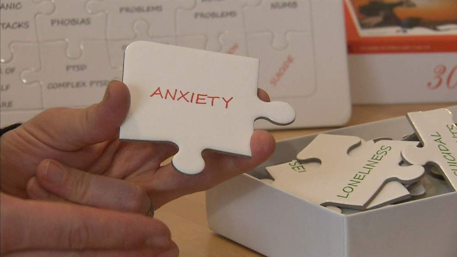 Jigsaw used to help sexual abuse victims