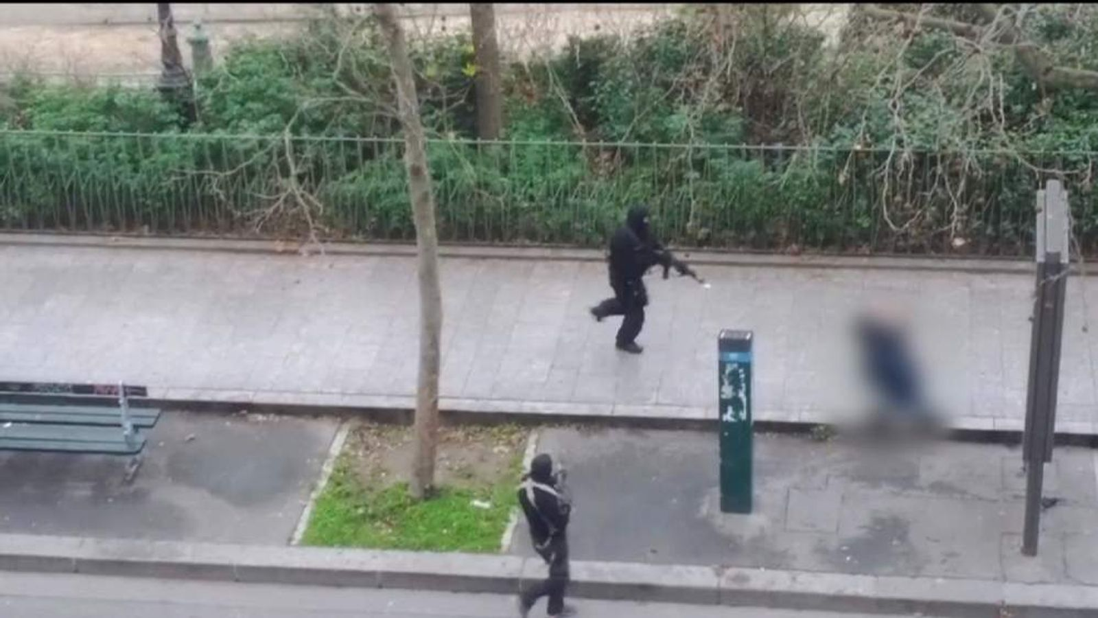 Paris Shooting gunmen kill police officer