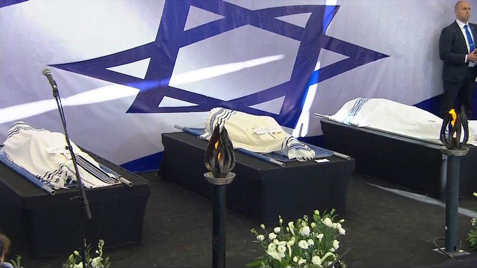 Funerals in Israel of jewish victims of Paris terror attacks