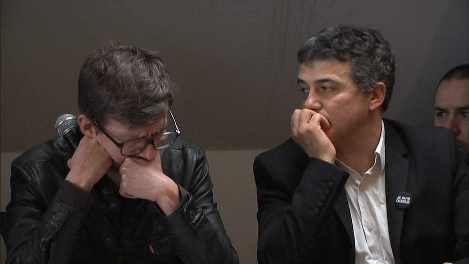Charlie Hebdo news conference