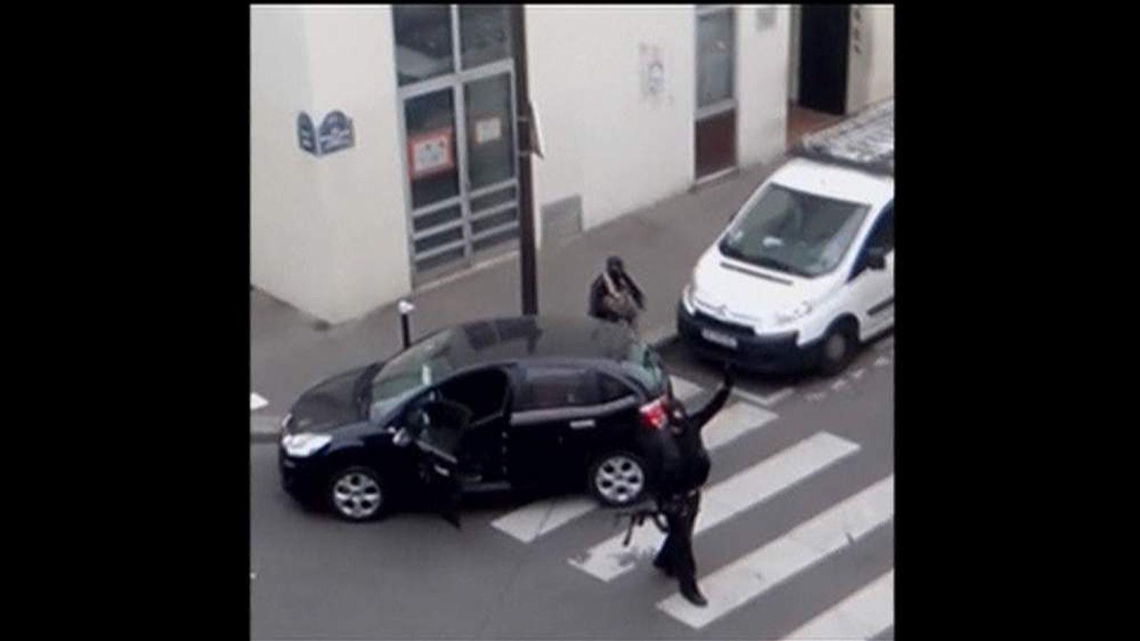 Paris shooters