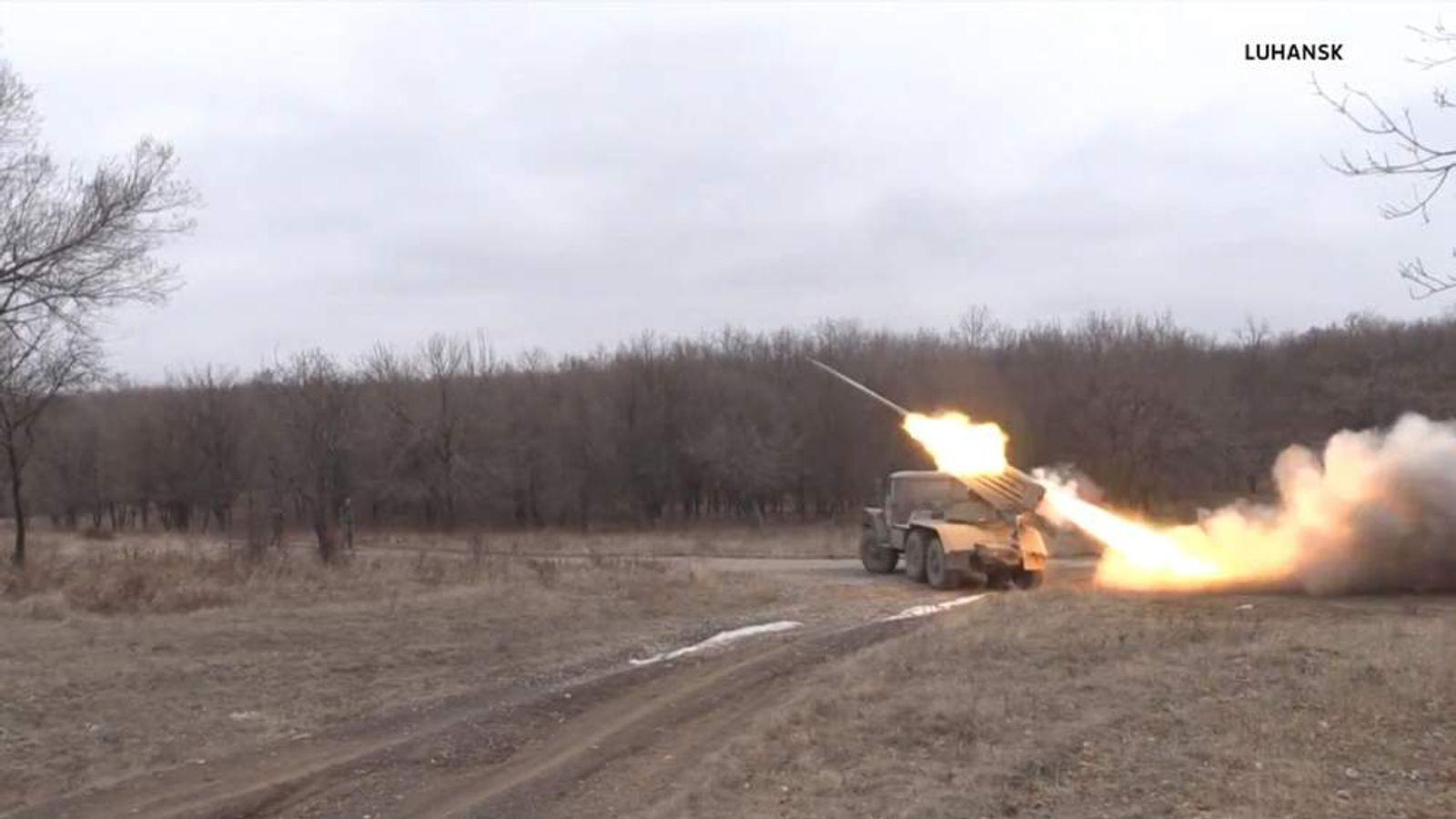Grad Rockets Ukraine