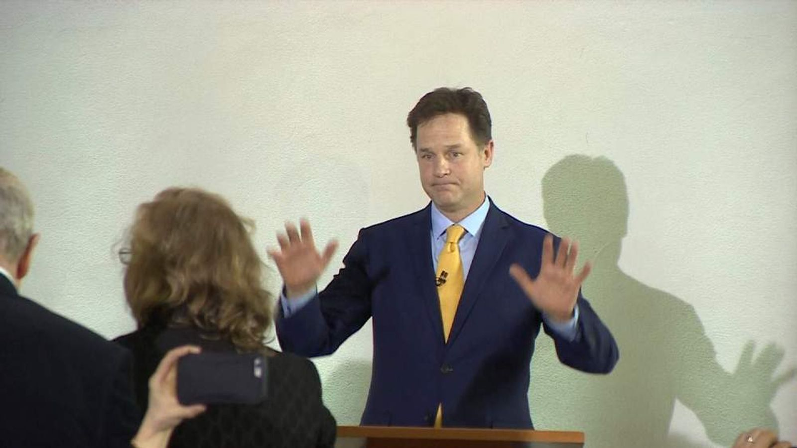 Nick Clegg resigns