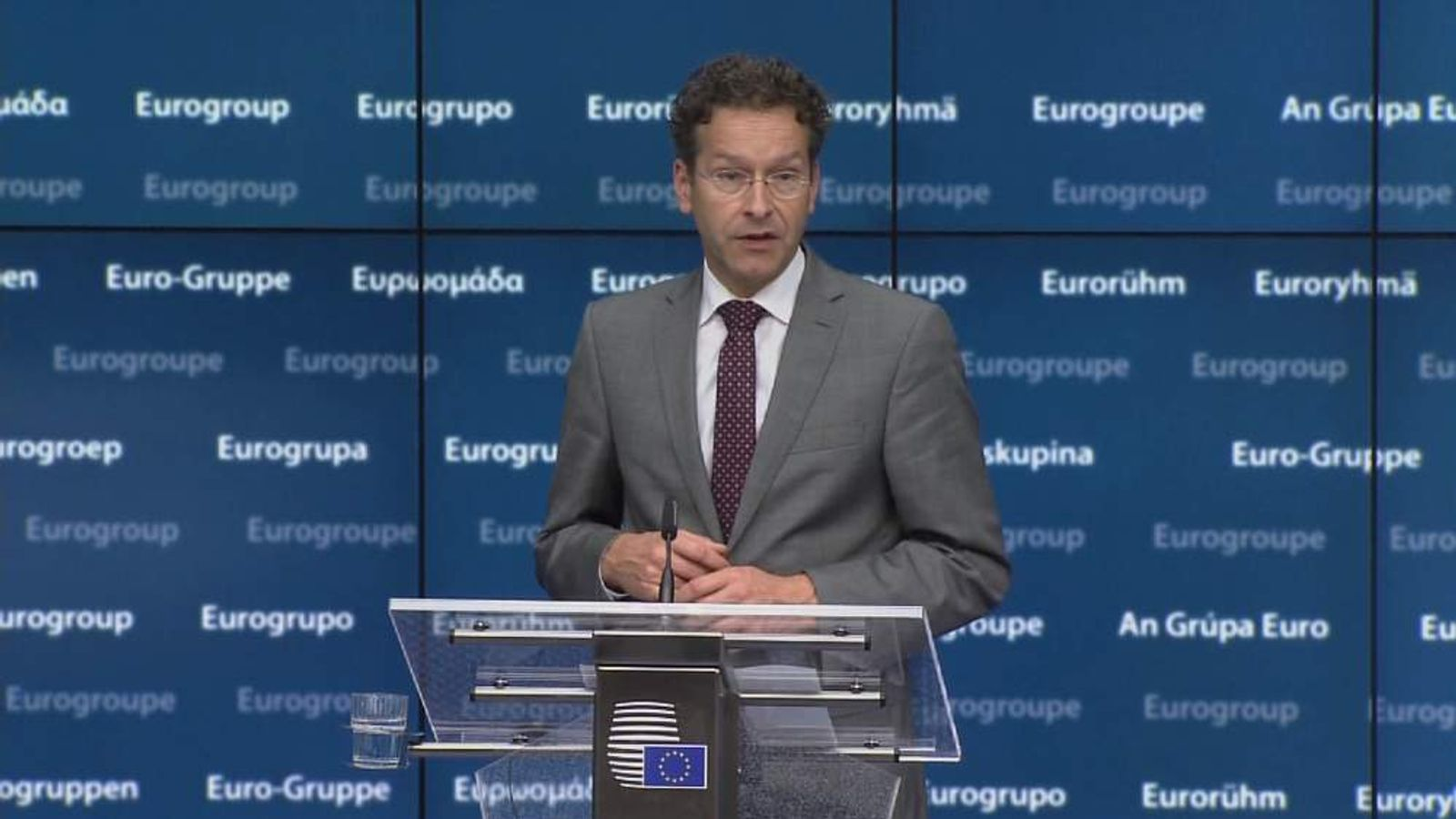Eurogroup President Jeroen Dijisselbloem