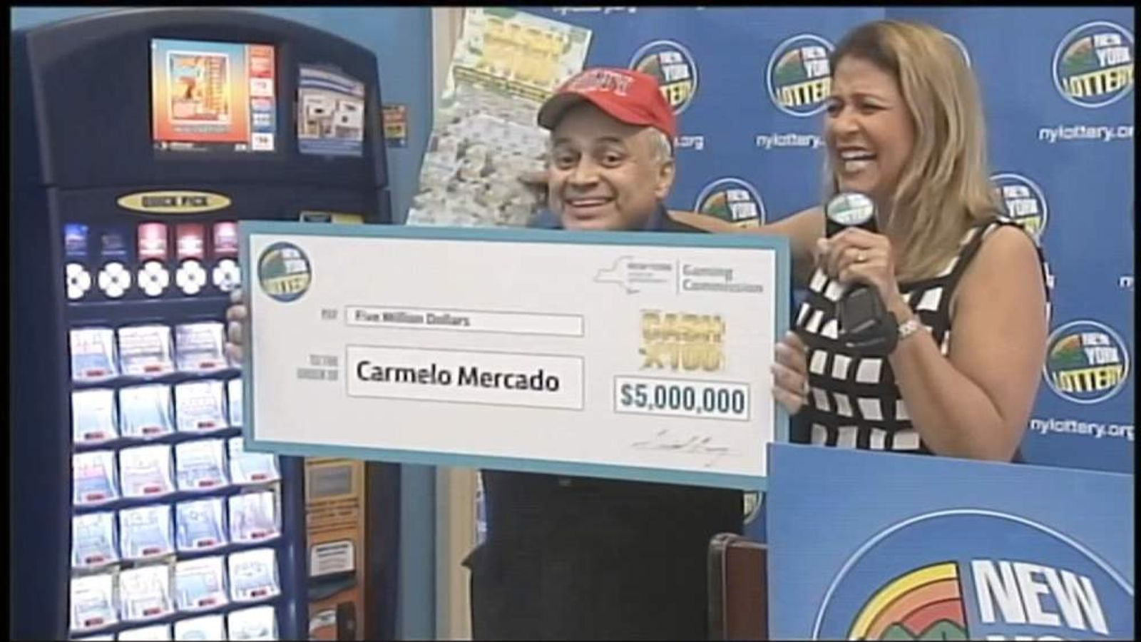 9/11 firefighter Carmelo Mercado wins lottery
