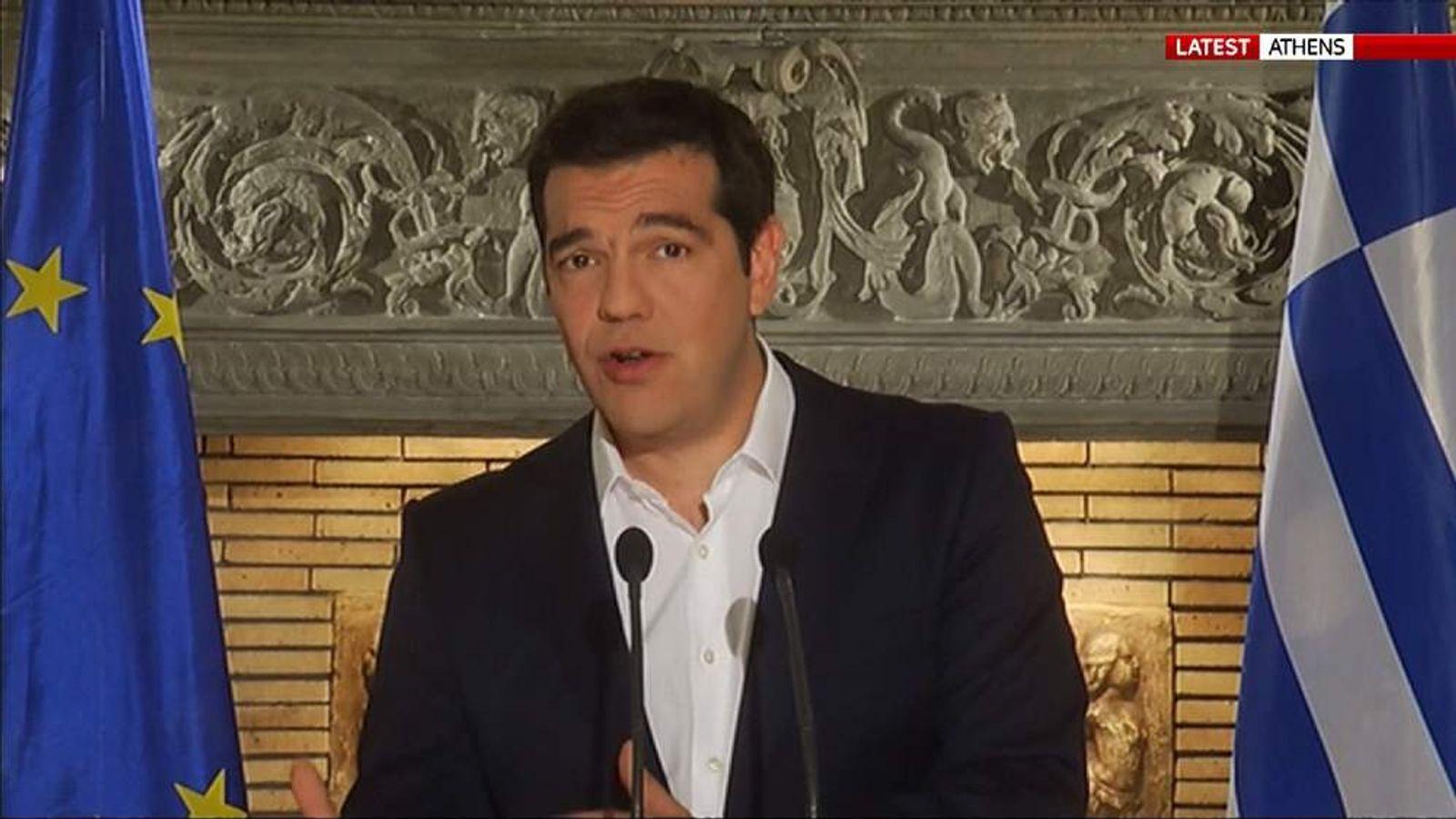 050715 GREEK REFERENDUM PM ALEXIS TSIPRAS