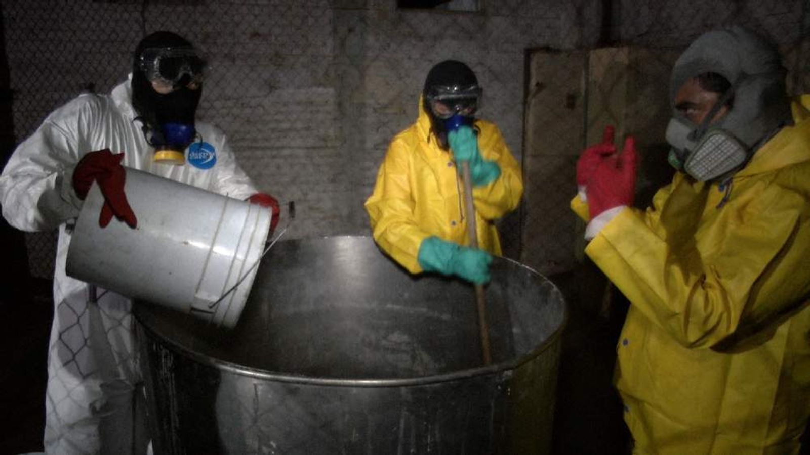 Inside Mexico's Infamous Meth Super Labs
