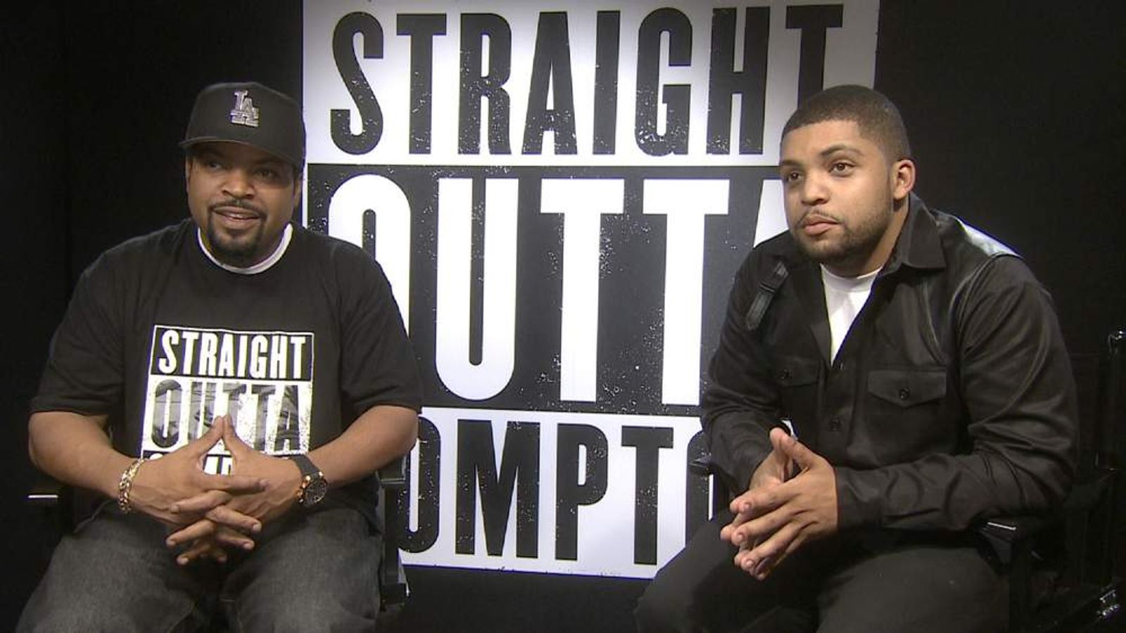 Ice Cube and O'Shea Jackson Jr