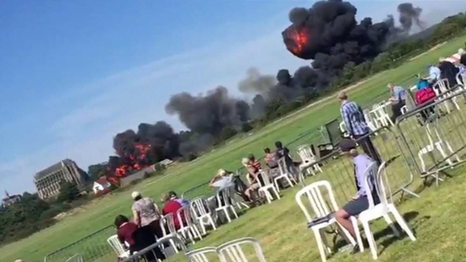 Plane Crashes At Shoreham Airshow.