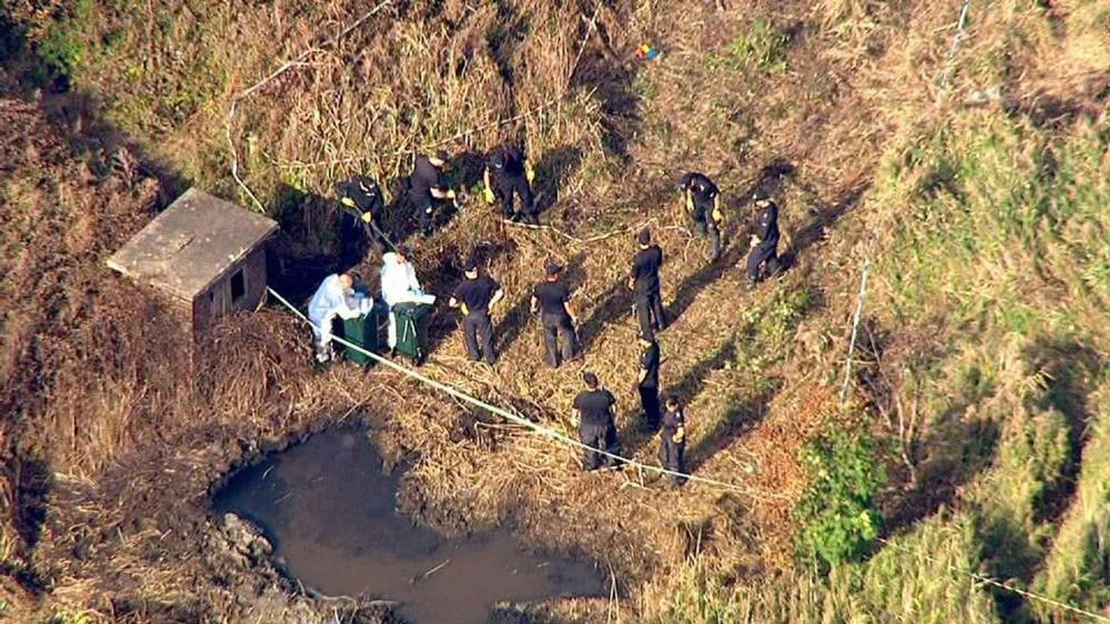 The site of the Shoreham Airshow crash