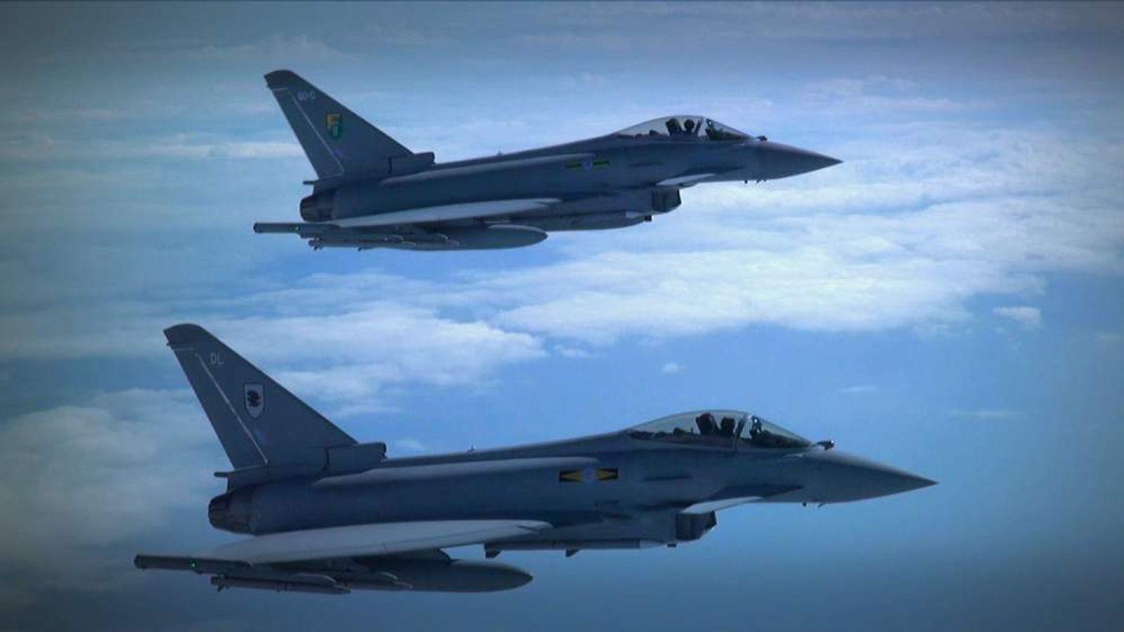 Jets Intercepting