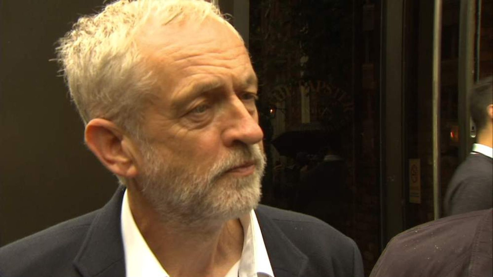Jeremy Corbyn answers questions after appointing his shadow cabinet