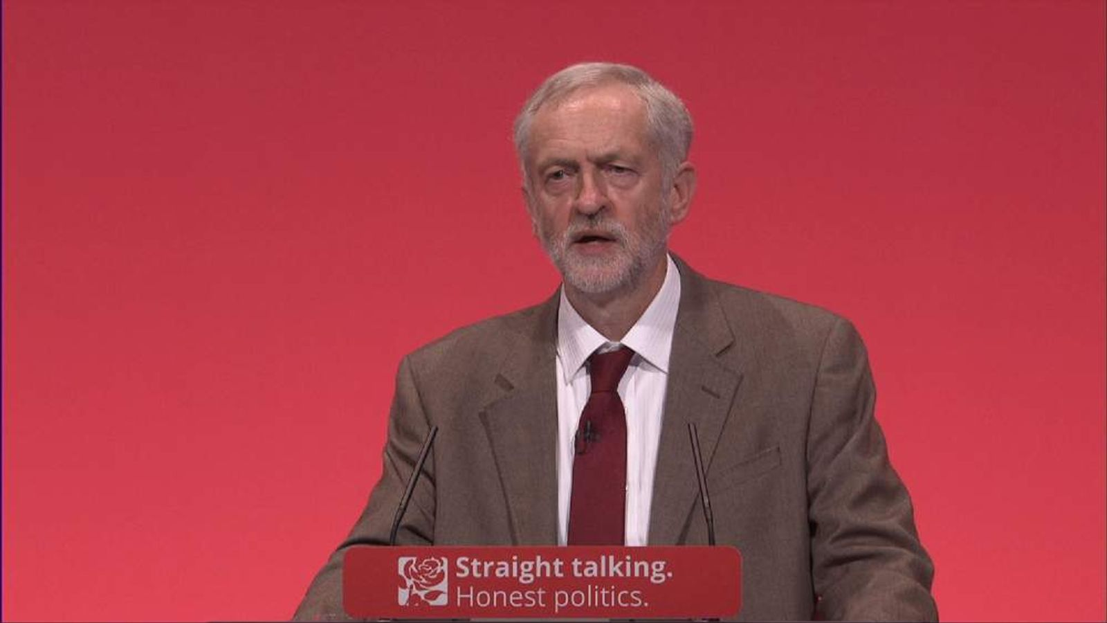 Labour leader talks about ending austerity