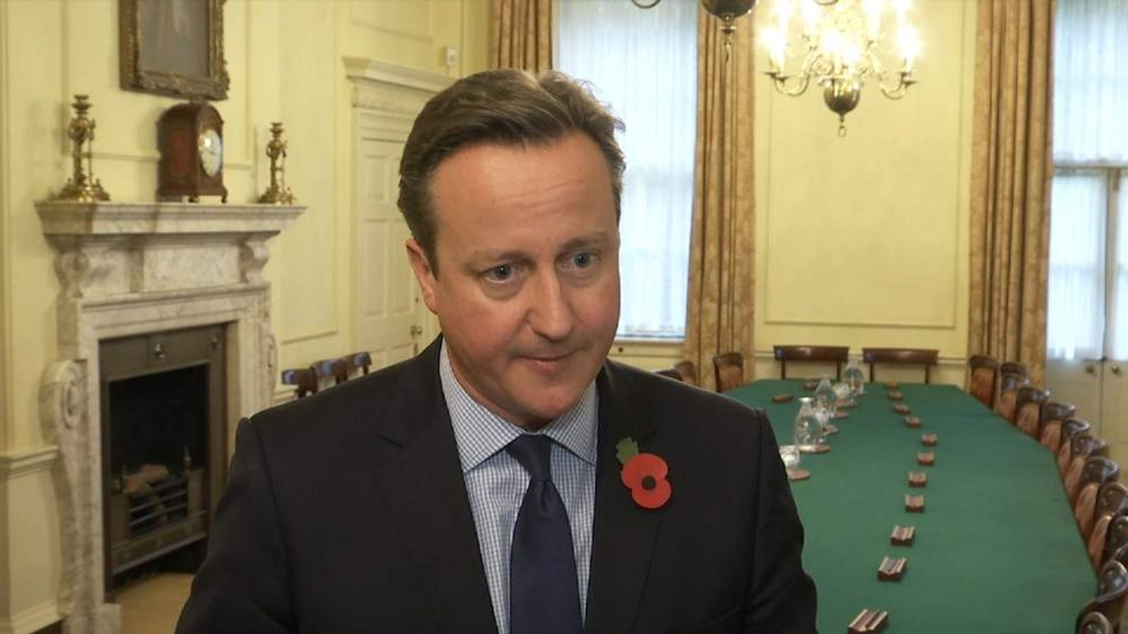 Cameron Suspended Flights To Protect British Citizens