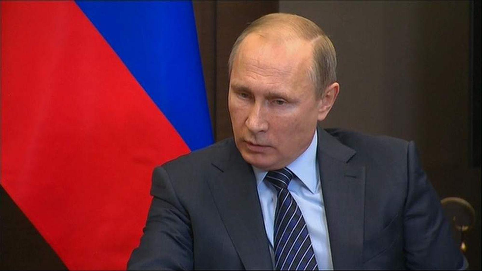 241115 Putin Statement Turkey Jet