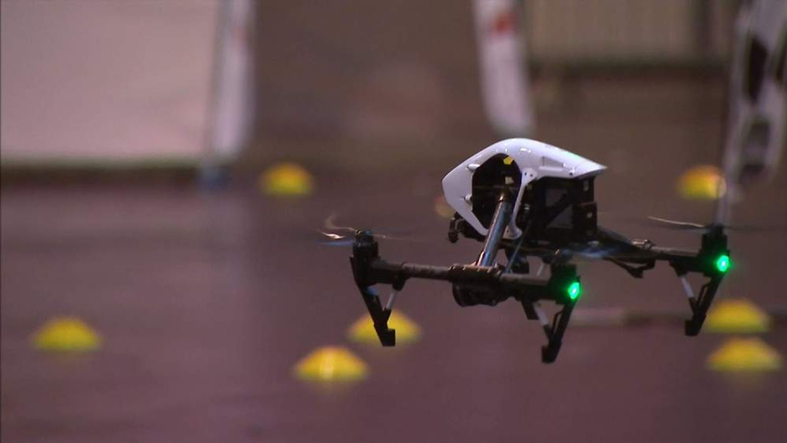 Drone complaints are on the increase, figures from police in England suggest