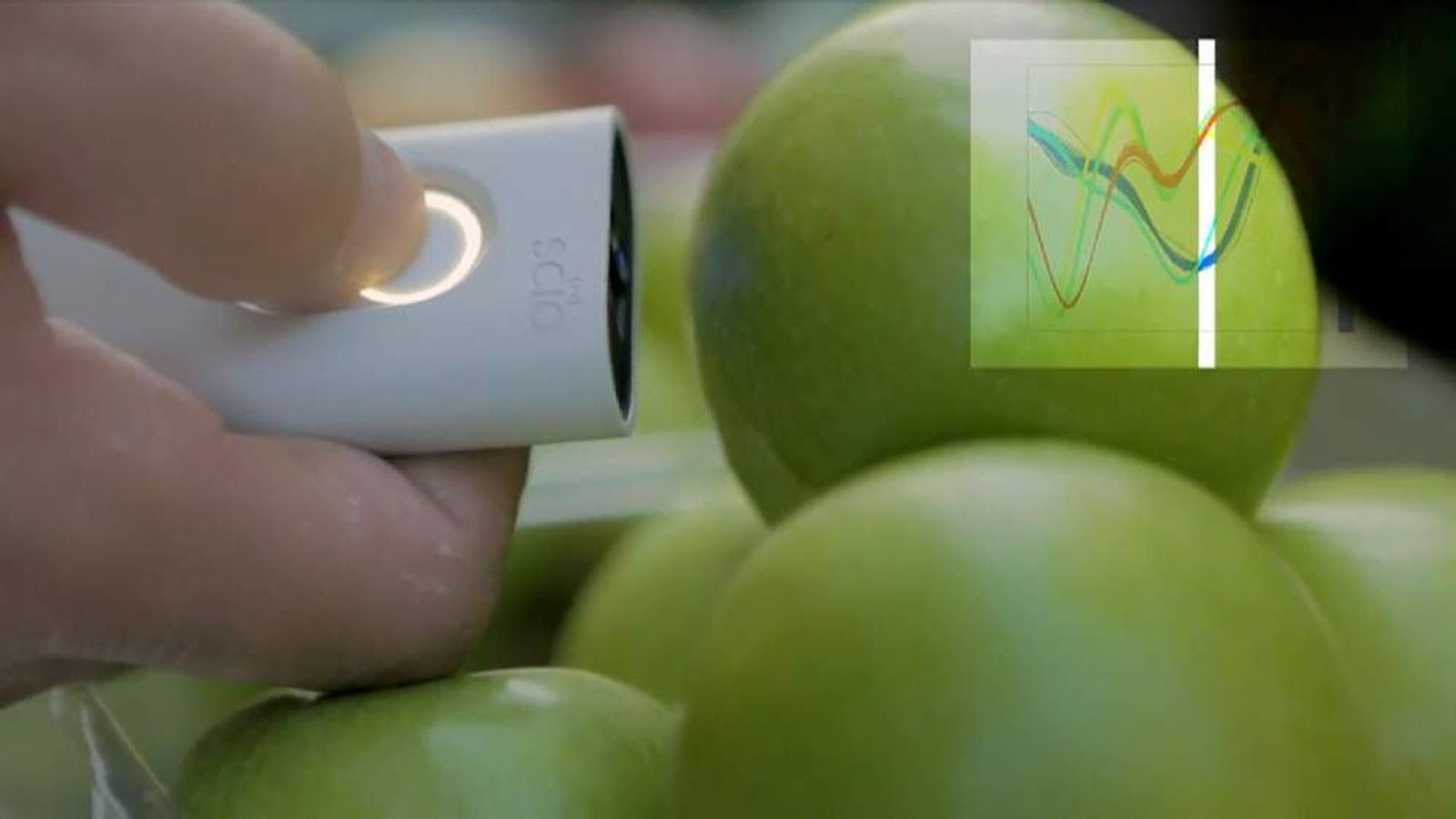 The uses for the scanners are 'endless', including instant nutritional data