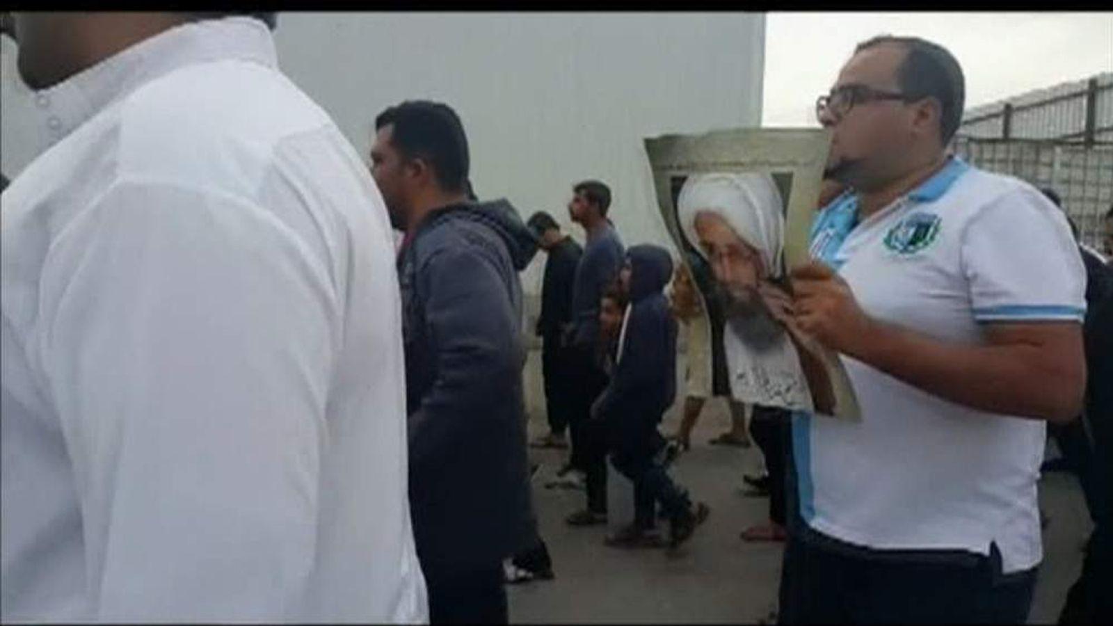 Protest in eastern Saudi against execution of Shia cleric Nimr al Nimr