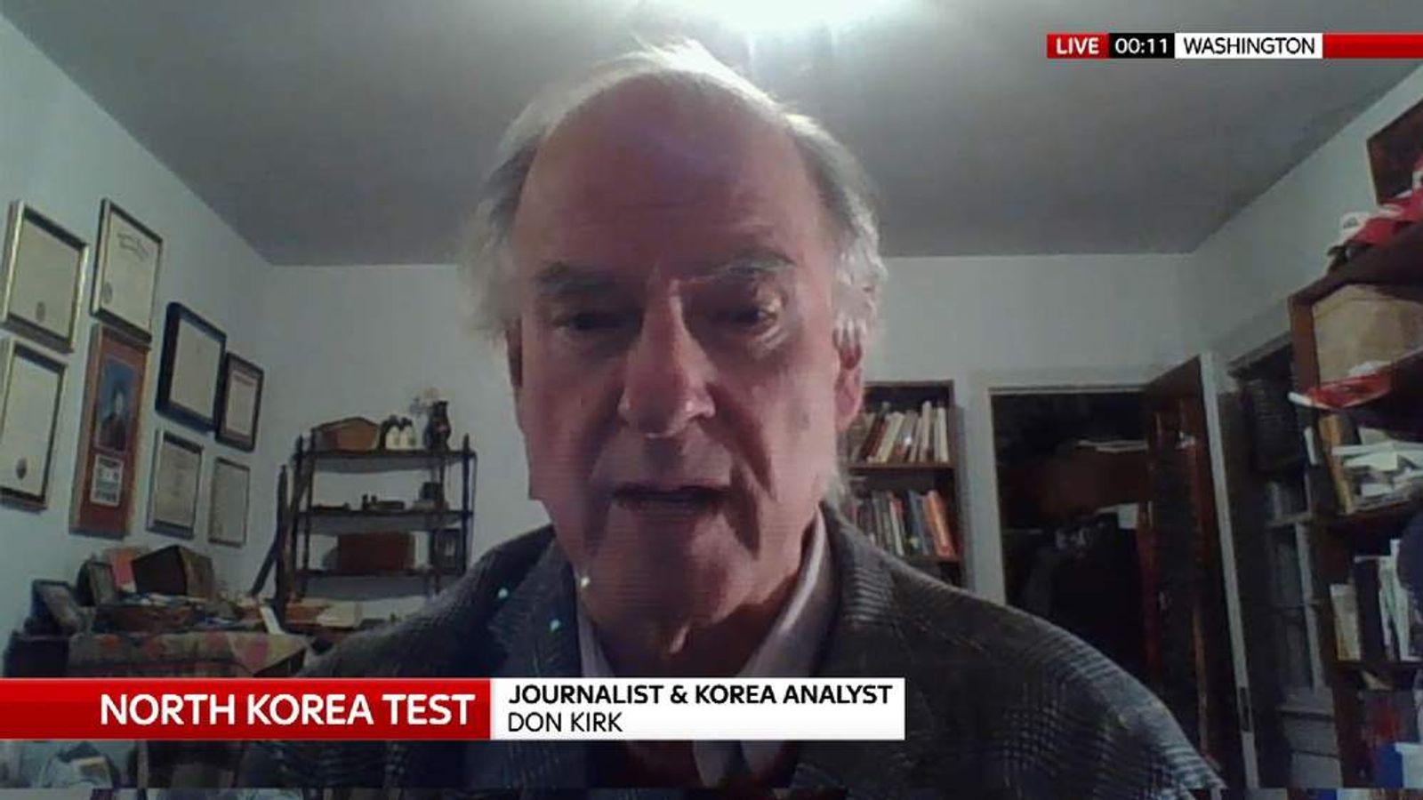 North Korean analyst Don Kirk
