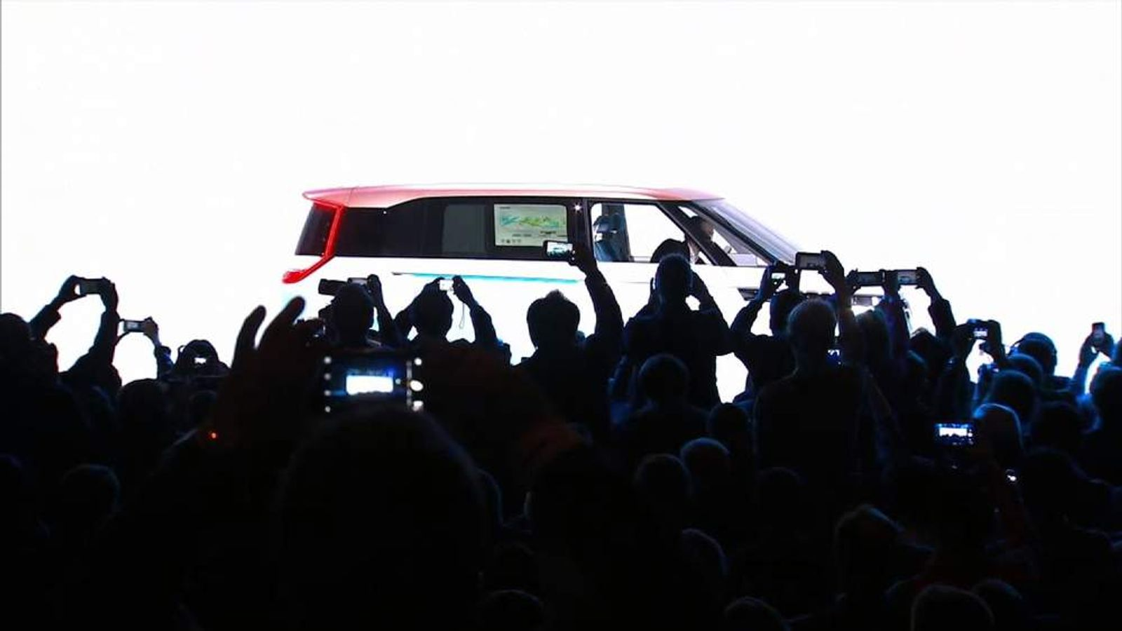 VW unveils electric car at CES trade show in Las Vegas