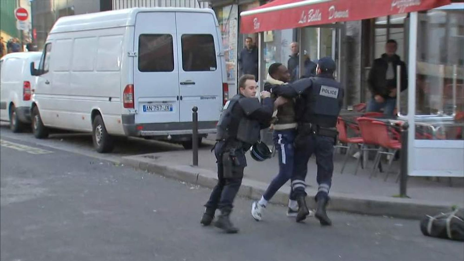 Man arrested in Paris