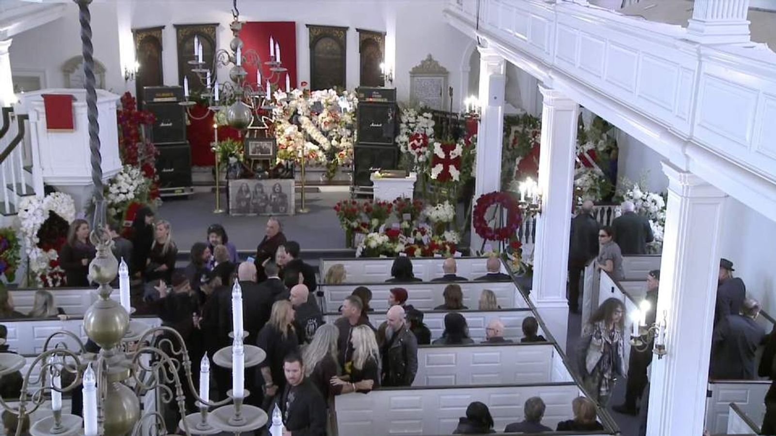 Motorhead's Lemmy was laid to rest in Los Angeles