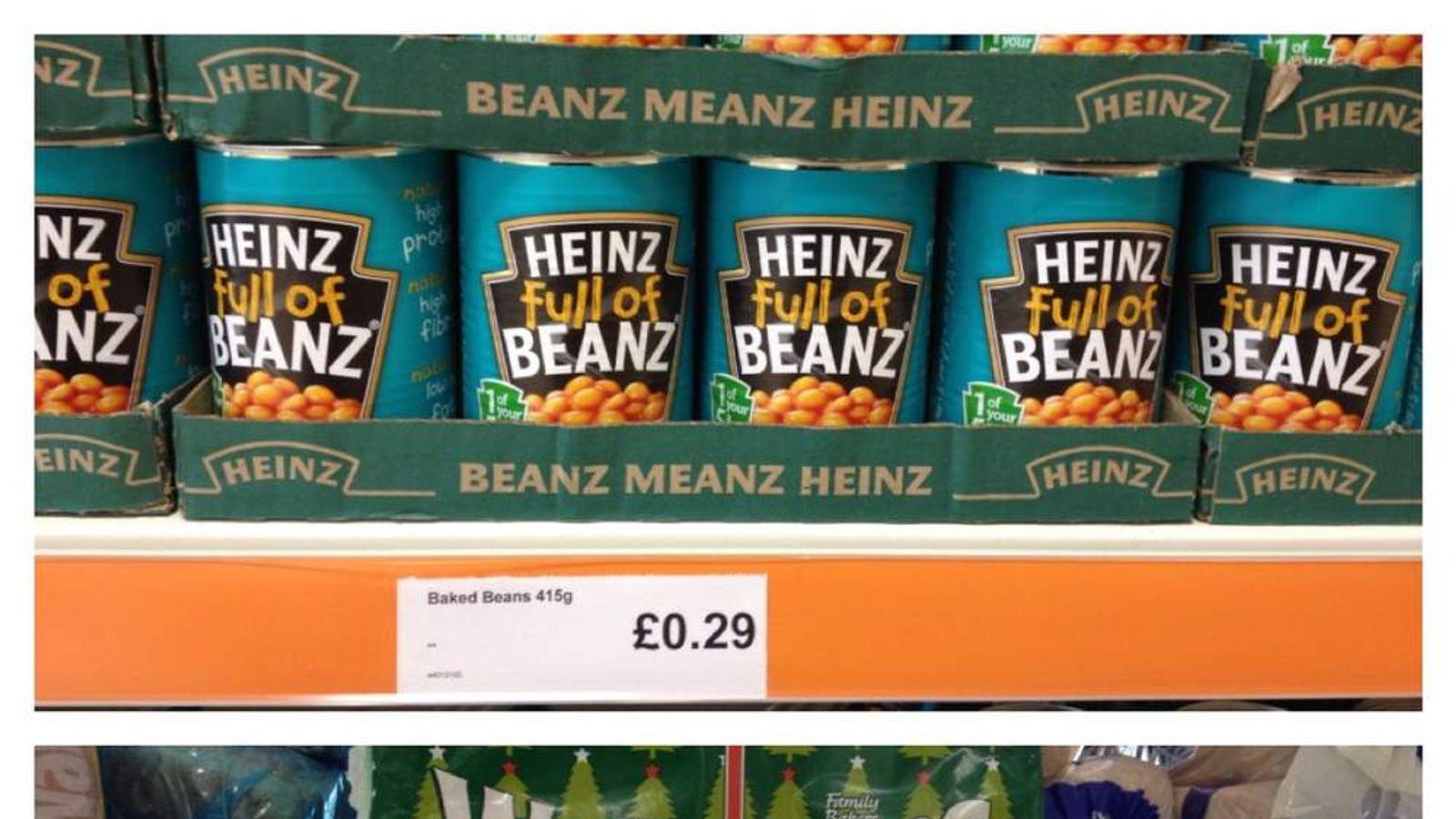 Cut-price beans