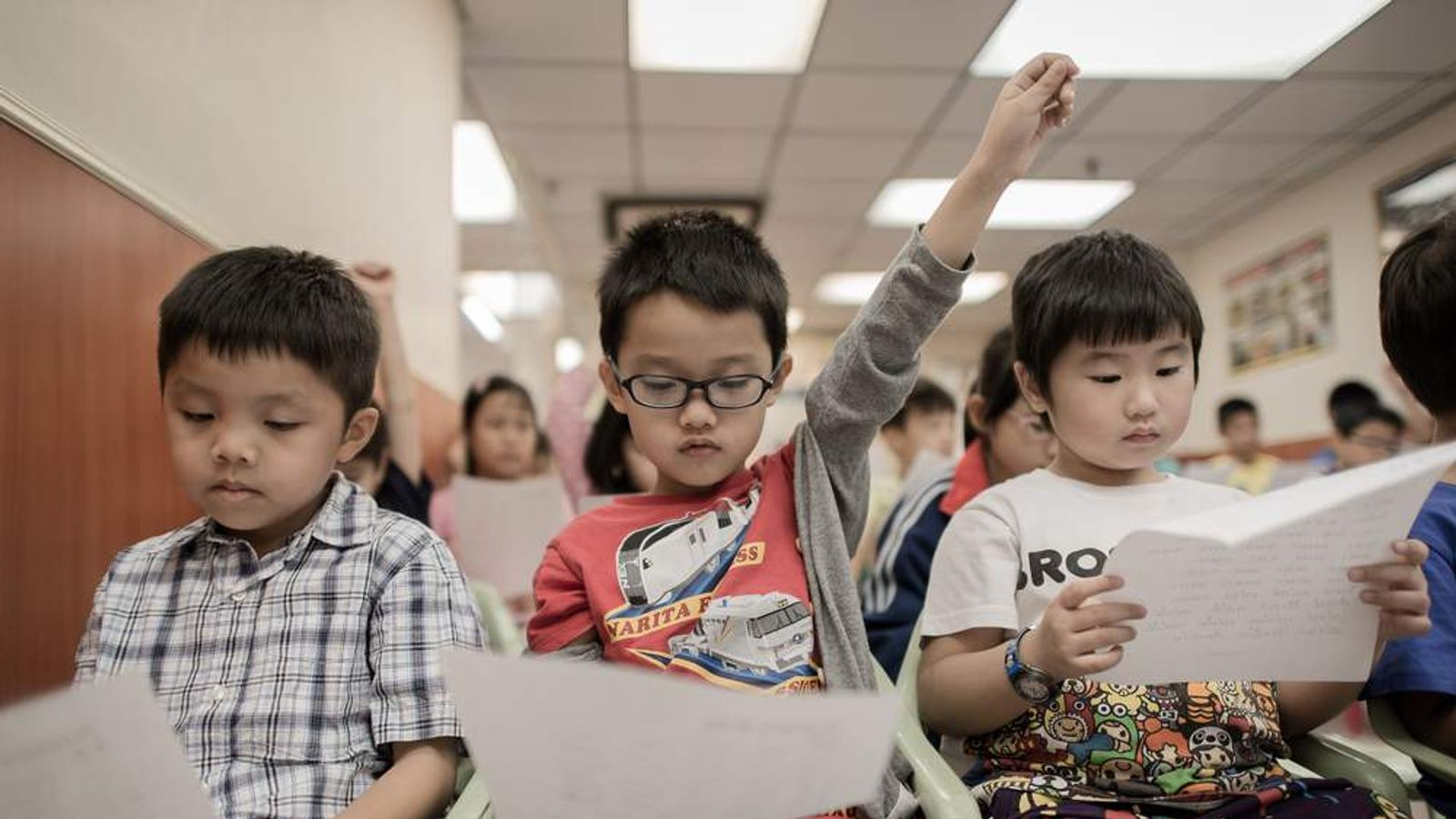 British teachers are to learn from Chinese counterparts