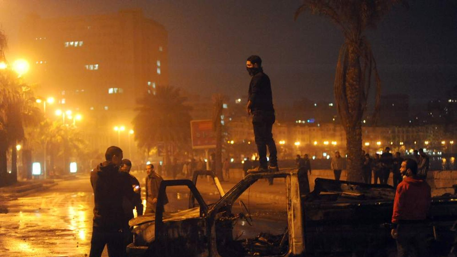 Egypt unrest in Alexandria