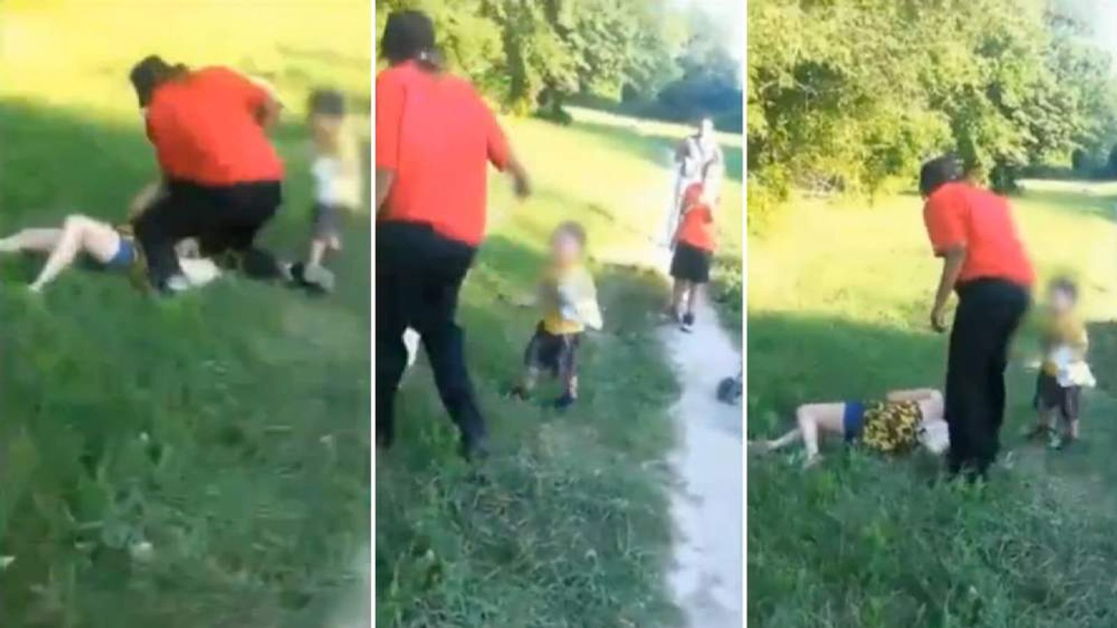 Fight involving a toddler in Salem Massecheusetts
