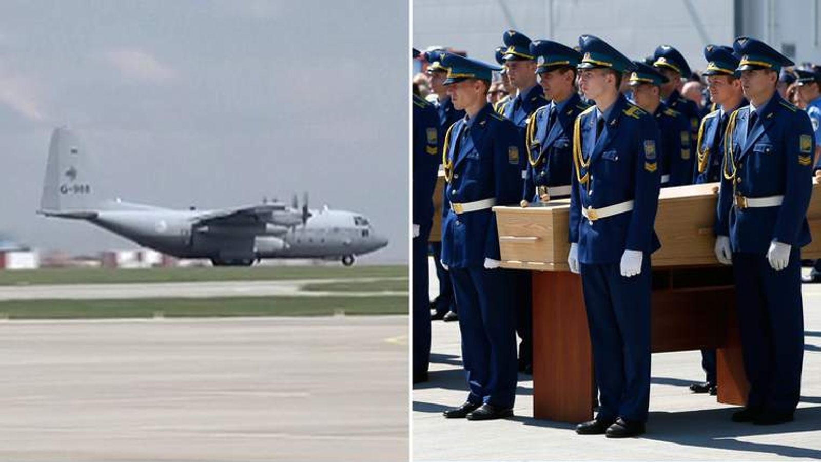 MH17: victims' bodies to be flown out of Ukraine