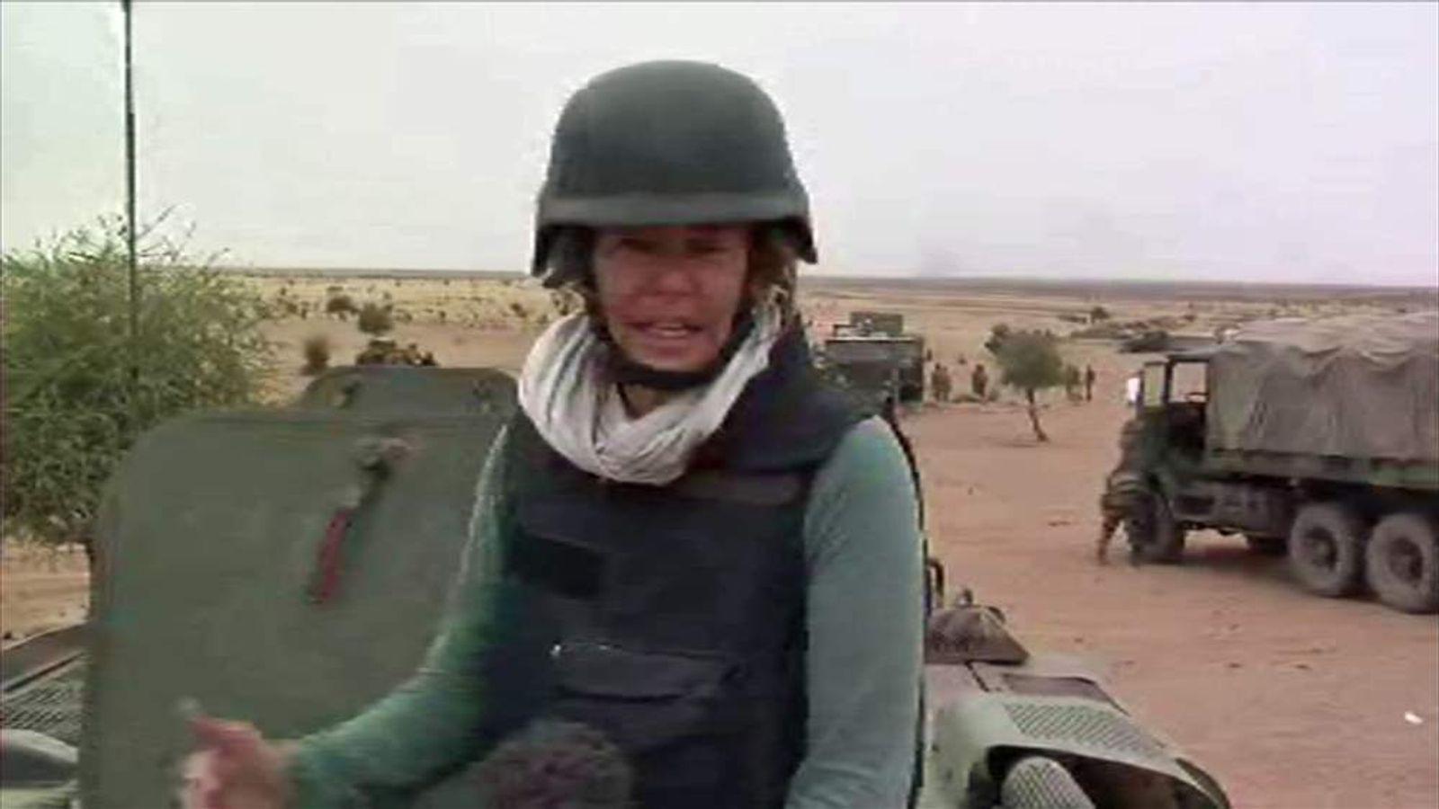 Alex Crawford in Mali