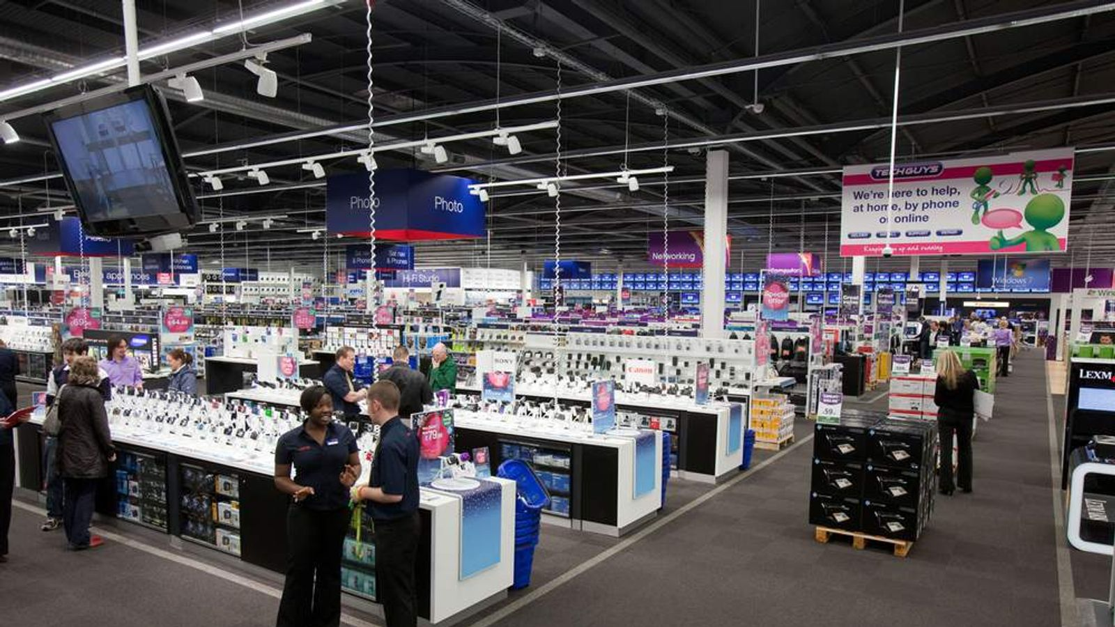 A Currys and PC World store