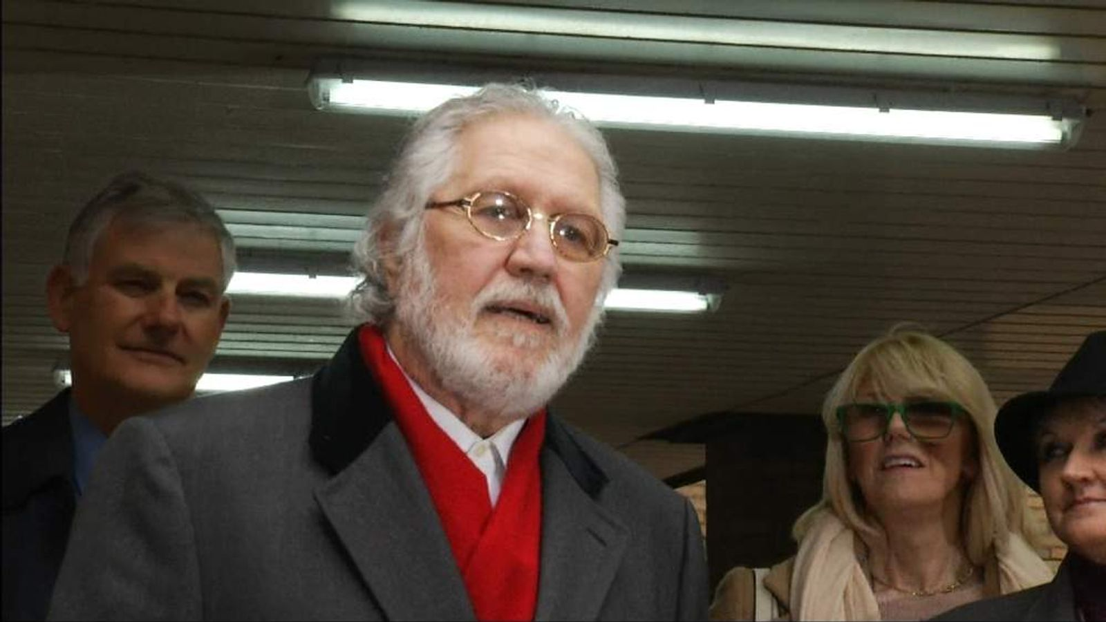 Former Radio 1 DJ Dave Lee Travis
