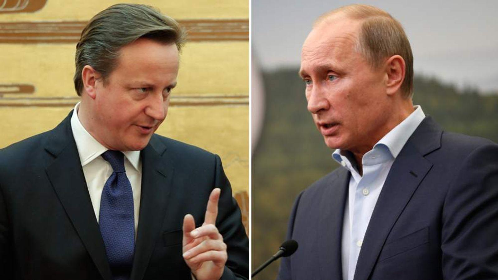 British Prime Minister David Cameron Visits China