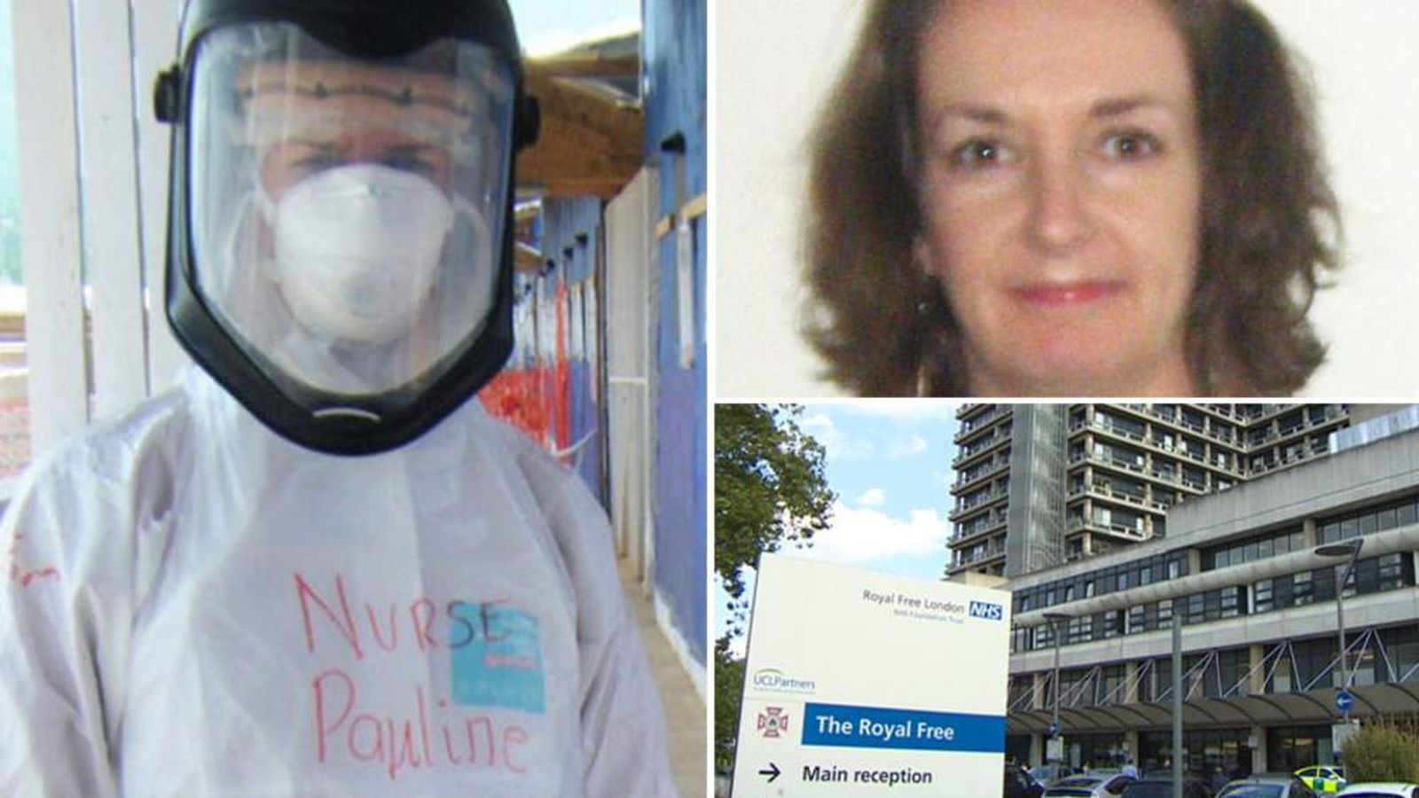 Pauline Cafferkey now critical in hospital