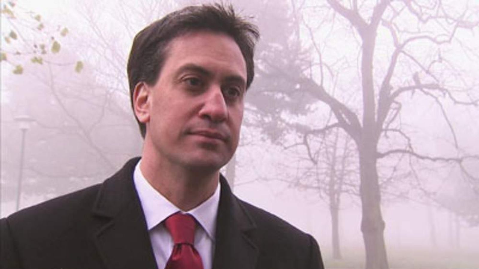 Ed Miliband in Middlesbrough.