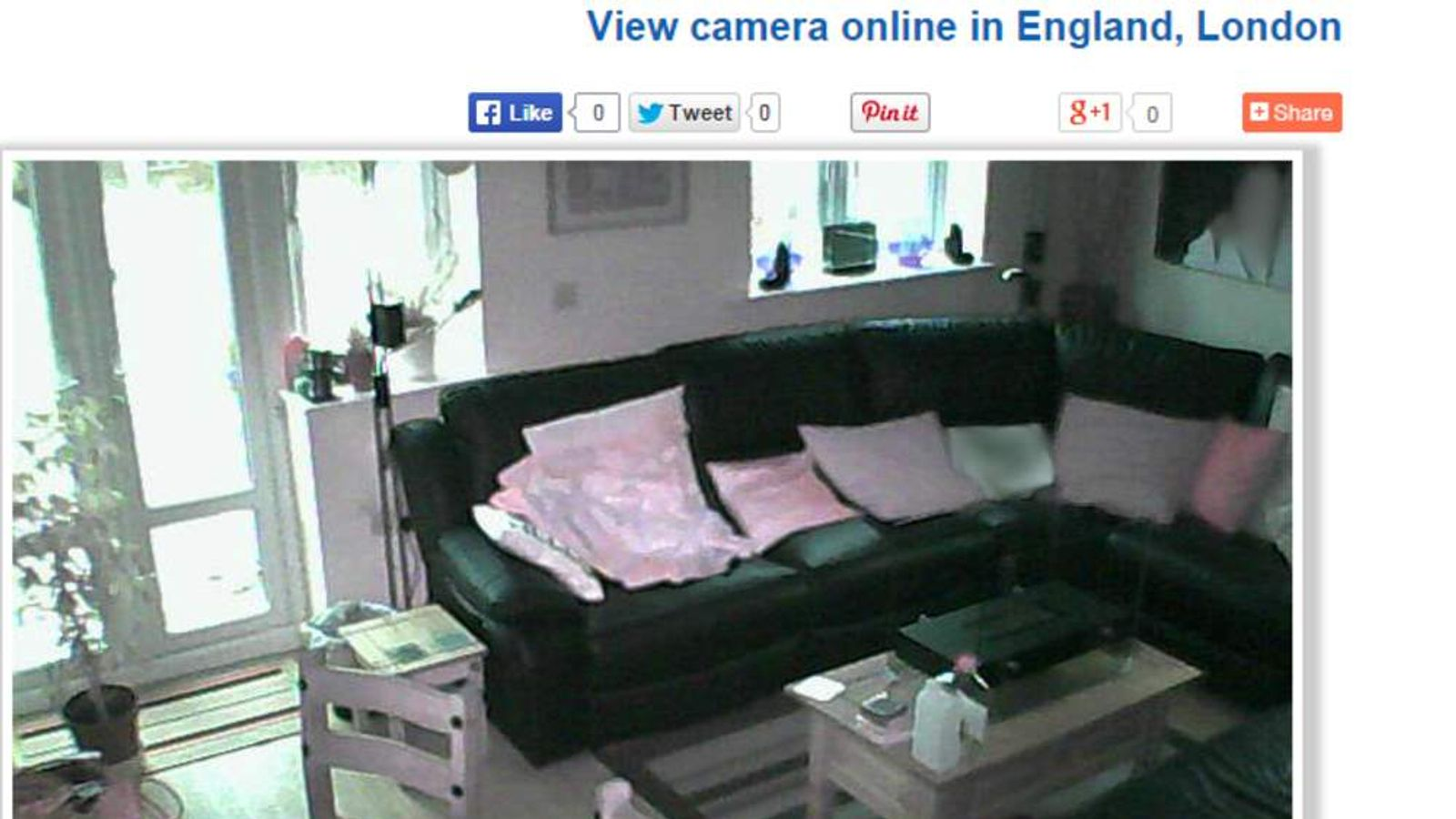 Webcams hacked by Russians