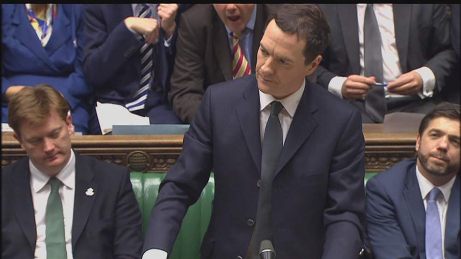 George Osborne AUTUMN STATEMENT