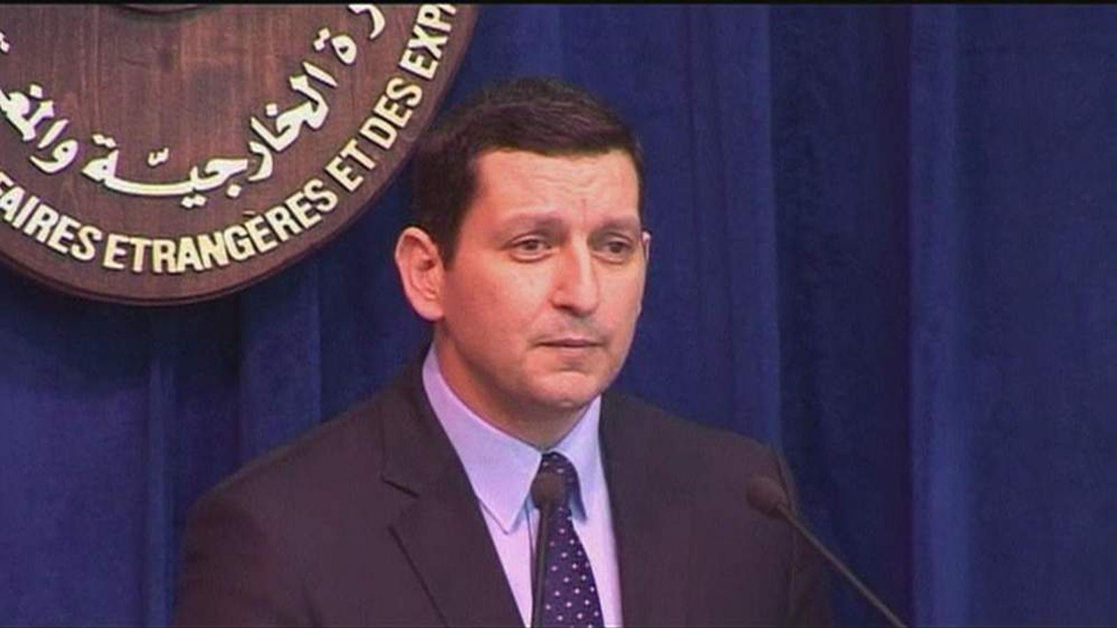 Foreign Ministry spokesman Jihad Makdissi