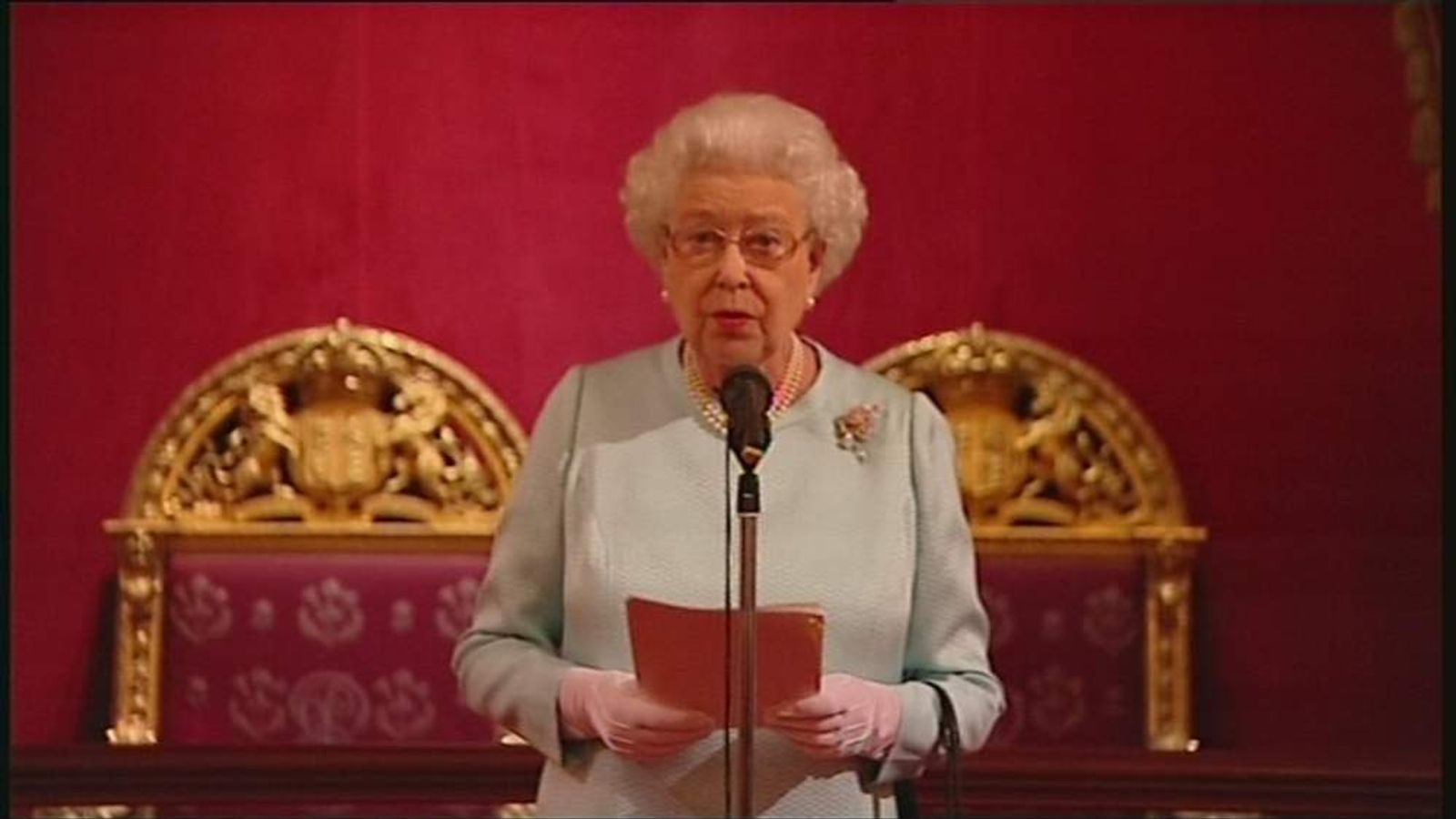 Olympics queen speech