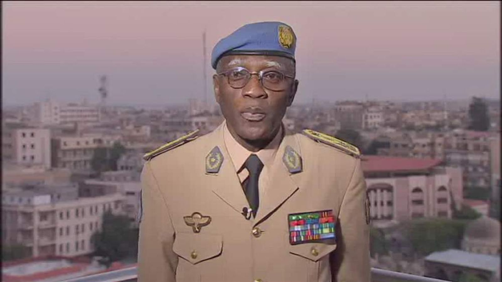 Head of UN Supervision Mission in Syria Lieutenant General Babacar Gaye